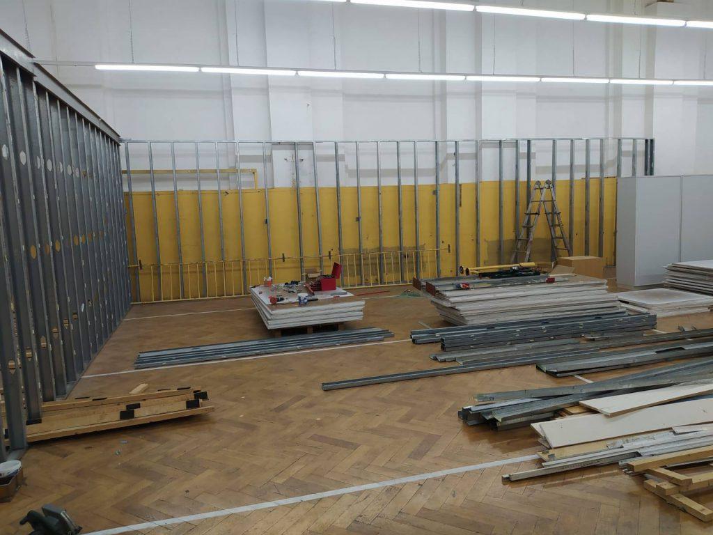 Aufbau Courts Europark